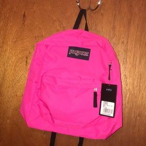 Jansport Superbreak Backpack Ultra Pink New 🎒